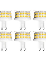 cheap -6pcs 9 W LED Bi-pin Lights 900 lm G9 T 88 LED Beads SMD 2835 Dimmable Warm White Cold White Natural White 200-240 V