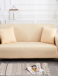 cheap -Sofa Cover High Stretch Beige Combinatorial Soft Elastic Polyester Slipcovers