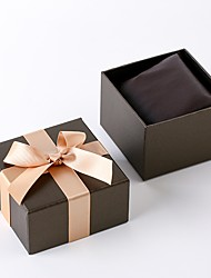 Недорогие -Коробки для часов Смешанные материалы Аксессуары для часов 0.04 kg Творчество / Новый дизайн / Удобный