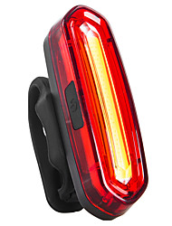 Недорогие -Велосипедные фары Задняя подсветка на велосипед огни безопасности LED Горные велосипеды Велоспорт Велоспорт Водонепроницаемый Перезаряжаемый Поворот на 360° Несколько режимов USB 110 lm USB Красный
