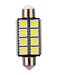 cheap -4pcs 42mm Car Light Bulbs 3 W SMD 5050 8 LED Interior Lights For universal / Volkswagen / Toyota All years