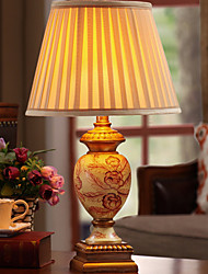 cheap -Table Lamp Decorative Simple / Floral For Bedroom Resin 220V