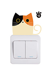 cheap -Light Switch Stickers - Animal Wall Stickers Animals Living Room / Bedroom / Kitchen 9*9cm