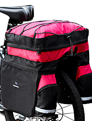 abordables -ROSWHEEL 60 L Sac de Porte-Bagage / Double Sacoche de Vélo Sacs de Porte-Bagage 3 en 1 Etanche Pluie Etanche Sac de Vélo Ripstop 600D Sac de Cyclisme Sacoche de Vélo Cyclisme Activités Extérieures