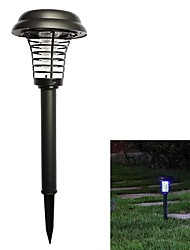 cheap -BRELONG Solar LED Light Mosquito Zapper Insect Killer Light Indoor Outdoor Home Garden Porch Courtyard Backyard