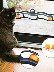 cheap -Interactive Cat Pet Toy 1pc Animals Focus Toy Mounts to Windows Plastic Gift