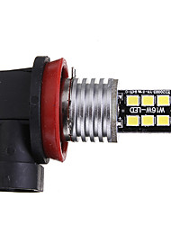cheap -1pcs H8 Car Light Bulbs 6 W SMD 2835 100 lm 15 LED Fog Lights / Daytime Running Lights / Side Marker Lights For universal / Volkswagen / Toyota All years