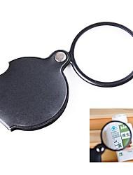 Недорогие -мини-карман 10x складная лупа для ювелирных изделий с высоким разрешением оптическое стекло для чтения часы ремонт глаз стекло лупа