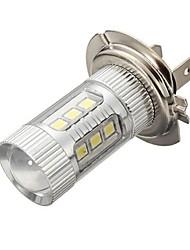 cheap -1pcs H7 Car Light Bulbs 8.4 W SMD 3030 700 lm 16 LED Fog Lights / Daytime Running Lights For All years