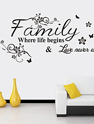 cheap -Decorative Wall Stickers - Plane Wall Stickers Shapes Indoor