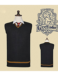 cheap -Inspired by Cosplay Harry James Potter / Magic Harry / Gryffin d'or Anime Cosplay Costumes Japanese Cosplay Tops / Bottoms Anime Sleeveless Vest For Unisex