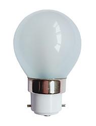 cheap -3 W LED Globe Bulbs 90-100 lm B22 G45 25 LED Beads SMD 3014 Warm White 220-240 V / # / RoHS