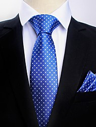 Недорогие -Муж. Для вечеринки / Для офиса Платок / аскотский галстук Цветочный принт / С принтом / Жаккард