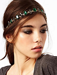 cheap -Headbands / Decorations Hair Accessories Crystal / Alloy Wigs Accessories Women's 1 pcs pcs cm Wedding / Festival Retro Women
