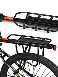cheap -Bike Cargo Rack Rear Rack Max Load 130 kg Adjustable Wearproof Quick Release Aluminum Alloy Road Bike Mountain Bike MTB Road Cycling - Black