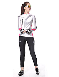 Недорогие -Жен. Велолосины Велоспорт Брюки Нижняя часть Дышащий 3D-панель Виды спорта Кулмакс® Черный Горные велосипеды Шоссейные велосипеды Одежда Одежда для велоспорта