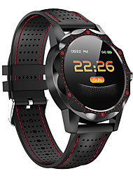 cheap -Smartwatch Digital Modern Style Sporty Silicone 30 m Water Resistant / Waterproof Heart Rate Monitor Bluetooth Digital Casual Outdoor - Black / Yellow Black / White Black / Red