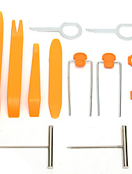 cheap -12pcs Car Audio Stereo Open Pry Tools Removal Kit Dash Door Audio Trim Removal Tool Kit