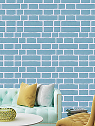 cheap -Wallpaper Vinylal Wall Covering Self-adhesive Brick 100*45 cm