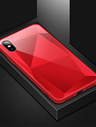 cheap -Case For Apple iPhone XS / iPhone XR / iPhone XS Max Shockproof / Mirror Back Cover Solid Colored Hard Acrylic / PC
