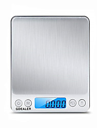 cheap -0.1g-2000g  Portable Mini Electronic Digital Scale Pocket Case Postal High Precision Kitchen Jewelry Weight