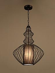 cheap -1-Light LED® Geometrical Lantern Pendant Light Downlight Painted Finishes Metal Creative 110-120V 220-240V