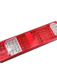 Недорогие -1pcs Проводное подключение Автомобиль Лампы 52 Светодиодная лампа Подсветка для номерного знака Назначение Универсальный Все года