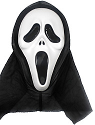 cheap -Cosplay Costume Mask Halloween Mask Inspired by Skeleton / Skull Scary Movie Golden White Halloween Halloween Masquerade Adults' Men's Women's