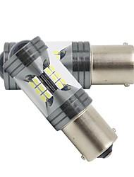 Недорогие -2pcs 1156 / 1157 / 7440 Автомобиль Лампы 60 W SMD 3030 22 Светодиодная лампа Лампа поворотного сигнала / Тормозные огни Назначение Универсальный Все года