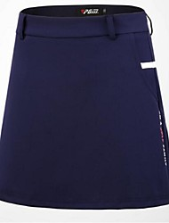 cheap -Women's Skirt Golf Sports & Outdoor Autumn / Fall Spring Summer / Spandex / Stretchy