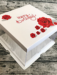 cheap -Cuboid Card Paper / Cardboard Paper Favor Holder with Sashes / Ribbons Favor Boxes / Gift Boxes - 1 Piece