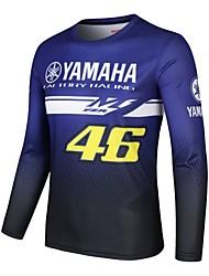 cheap -YAMAHA 46 Moto GP Team Men's Racing Wear Riding Off-Road Jersey T-shirt