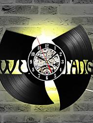 Недорогие -Ву Тан клан хип-хоп группа горячие продажи cd рекордные часы виниловые пластинки творческий подарок светодиодные настенные часы