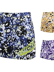 cheap -Women's Skirt Golf Sports & Outdoor Autumn / Fall Spring Summer / Spandex / Stretchy / Floral Botanical
