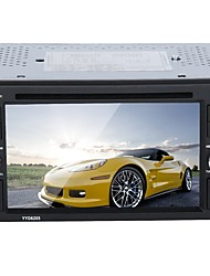 cheap -Factory OEM YYD-6205 6.2 inch 2 DIN Other In-Dash Car DVD Player Touch Screen / MP3 / Built-in Bluetooth for universal RCA / Mini USB / Bluetooth Support AVI / MOV / WMV MP3 / WMA / WAV JPEG / PNG