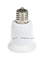 cheap -E17 To E26 E27 Lamp Base Lamp Holder Adapter Converter Socket Lampholder LED Light Bulb Max 200W PBT Material AC110-240V