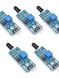 Недорогие -Ик модуль датчика пламени детектор smartsense для определения температуры совместим с Arduino