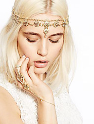 cheap -Crystal / Alloy Headbands with Crystal 1 Piece Special Occasion / Daily Wear Headpiece