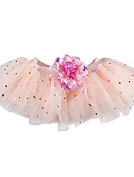 cheap -Petticoat Hoop Skirt Tutu Under Skirt 1950s Pink Petticoat / Kid's / Crinoline