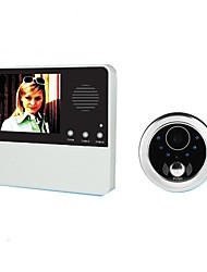 cheap -GW601D-2BH Wireless Built in out Speaker ≤3 inch Hands-free 240*3*320 Pixel One to One video doorphone