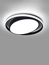 cheap -1-Light CONTRACTED LED® 50 cm Creative / New Design / Cool Flush Mount Lights Aluminum Circle / Geometrical Painted Finishes Artistic / Modern 110-120V / 220-240V