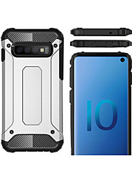 cheap -Case For Samsung Galaxy S9 / S9 Plus / Galaxy S10 Shockproof Back Cover Armor Hard Plastic