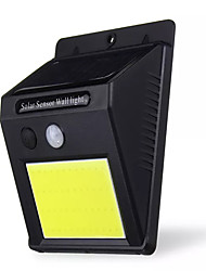 cheap -1pc 5 W Solar Wall Light Solar Infrared Sensor Cold White 3.2 V Courtyard 48 LED Beads