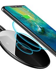 Недорогие -Baseus беспроводное автомобильное зарядное устройство 10 Вт 7.5 Вт QC 3.0 стеклянное зеркало зарядки коврик быстрая зарядка