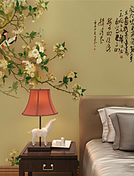 cheap -Wallpaper / Mural Canvas Wall Covering - Adhesive required Painting / Art Deco / Word