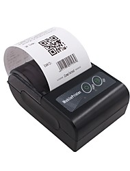cheap -YK&SCAN YK-58HB2 USB Wired Bluetooth Wireless Small Business Office Business Thermal Printer 203 DPI Only for Android Smartphones