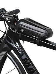 abordables -INBIKE Sac de cadre de vélo Etanche Portable Multifonctionnel Sac de Vélo faux cuir Polyester EVA Sac de Cyclisme Sacoche de Vélo Cyclisme Vélo Cyclisme