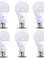 cheap -6pcs 12 W LED Globe Bulbs 1180 lm B22 E26 / E27 28 LED Beads SMD 2835 Warm White Cold White 220-240 V 110-130 V