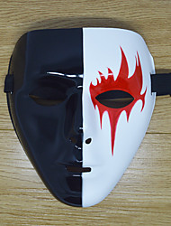 cheap -White Mask Inspired by Melbourne Shuffle Dance White Halloween Halloween Masquerade Adults' Men's Women's