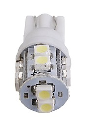 cheap -1pcs T10 Car Light Bulbs SMD 3528 10 LED License Plate Lights / Side Marker Lights For All years